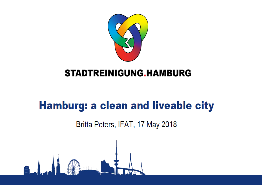 Britta Peters - Hamburg: a clean and liveable city
