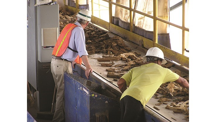 Keys to success for municipal C&D recycling programs