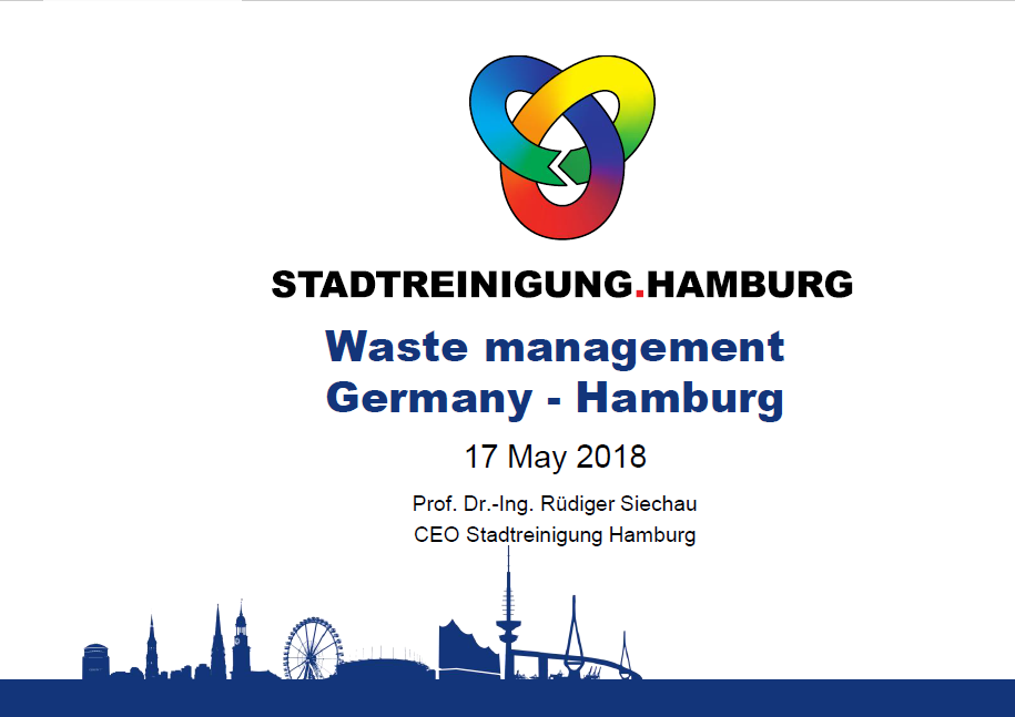 Prof. Dr.-Ing. Rüdiger Siechau - Waste Management Germany - Hamburg