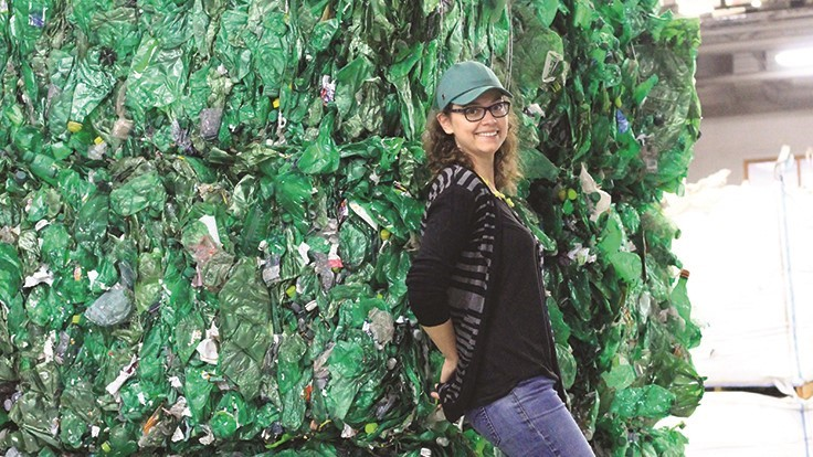 The sustainable approach to PET bottle recycling